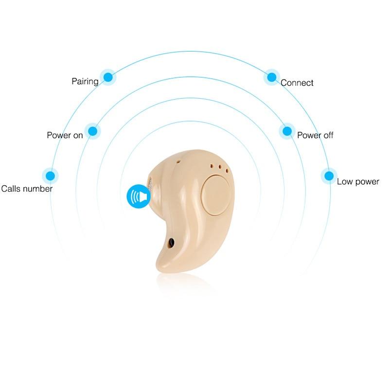 Mini Bluetooth Wireless Earphone in Ear Sports Headphone Stereo Headset Earpiece with Mic Handsfree For iPhone Samsung Xiaomi 2