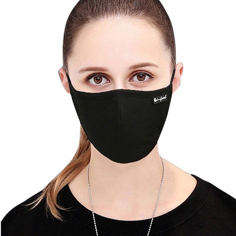 De Voluntad Fuerte 1 Piezas Máscara De Polvo De Carbono Activado Filtro Contra La Contaminación De Cara De Algodón De La Boca Pm2.5 Gases De Escape De La Alergia Al Polen