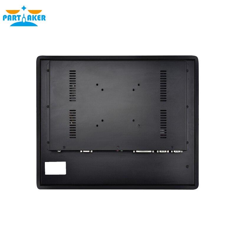 Z16T 19 дюймов светодиодный Intel Core i5 4200U мультитач компьютер промышленная панель ПК 4 г ram 64 г SSD
