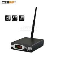CZE 01B CZERF PLL Stereo FM Transmitter MONO Radio Broadcast Station 0 1W 10 Level Home Campus Audio Amplifier 50/75us 76 108MHz