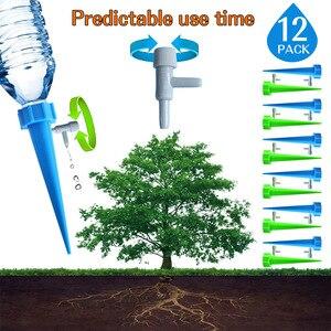 Image 2 - 12/15/24PCS dispositivo di irrigazione a flusso regolabile automatico interruttore valvola di controllo irrigazione a goccia irrigazione automatica punte irrigazione