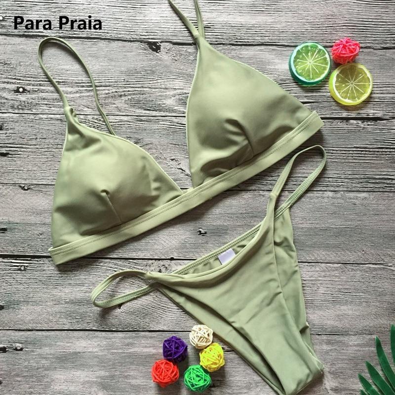 HTB1229vgqQoBKNjSZJnq6yw9VXaF 9 Colors Solid Bikini Set 2019 Sexy Push Up Swimwear Women Brazilian Swimsuit Low Waist Biquini Halter Two Pieces Bathing Suit