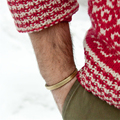 170-200mm Gold Plated Casual Charms Punk Male Titanium Steel Simple Men Vintage Antique Cuff Opening Bracelets Bangles Men Gifts