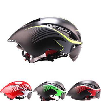 CAIRBULL Aero TT แผนที่หมวกกันน็อคจักรยานแว่นตาจักรยานกีฬาความปลอดภัย TT หมวกนิรภัย-แม่พิมพ์ Goggle หมวกนิรภัย - DISCOUNT ITEM  25% OFF กีฬาและนันทนาการ