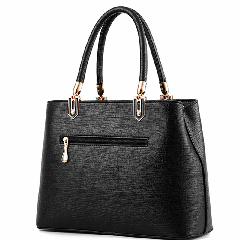 ... Leather Commuter Office Ring tote bag Women s Pouch Bolsas Famous Ladys  Flap bag High Quality Black. 42% Off. 🔍 Previous. Next 96ae0b4bb6be3