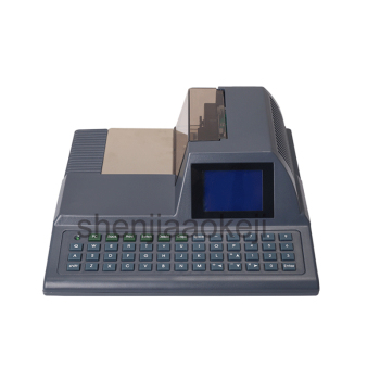 Checkwriter DY-2015 Check Printer English Cheque Printer Hong Kong Malaysia Singapore Automatic Checking Machine 1pc