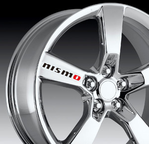 4 шт./лот, декоративный стикер для Nissan nismo, Altima, Juke, Murano, Rogue, Sentra, Versa, Teana, Sylphy