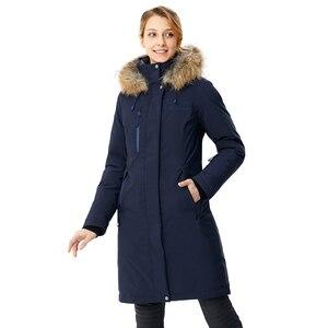Image 4 - RUNNING RIVER marka kobiety w połowie uda zima piesze wycieczki i Camping dół kurtki 4 kolory 5 rozmiary z kapturem odkryty sportowy płaszcz # D8141