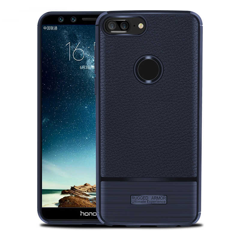 Mobile Phone Case Shockproof Silicon Cover On For Huawei Honor 9 Lite 9lite Honor9lite 3/4 32/64 GB Protective Smartphone Light