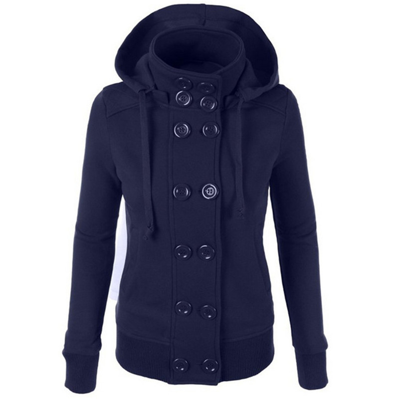 Ladies Winter Pea Coat Promotion-Shop for Promotional Ladies ...