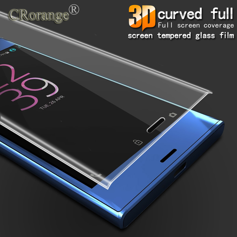 Anti-Explosion 3D Full Cover Tempered Glass For Sony Xperia XZ XC F8331 Dual Sim F8332 Screen Protector for Sony XZ Glass Flim