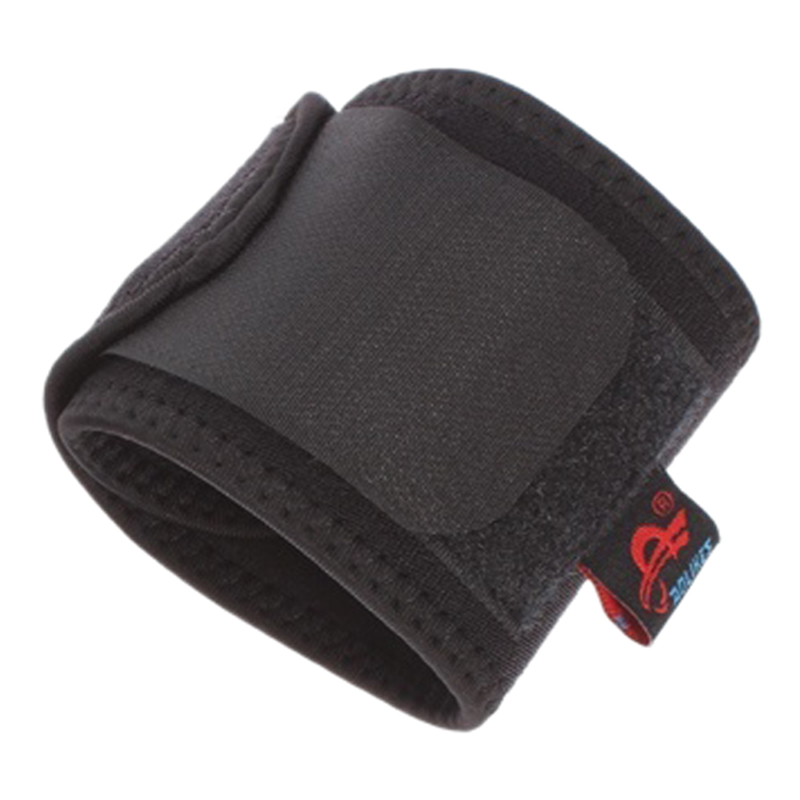 New Sale AOLIKES Universal Sports Palm Wrist Thumb Hand Wrap Glove Support Brace Gym Protector, Black