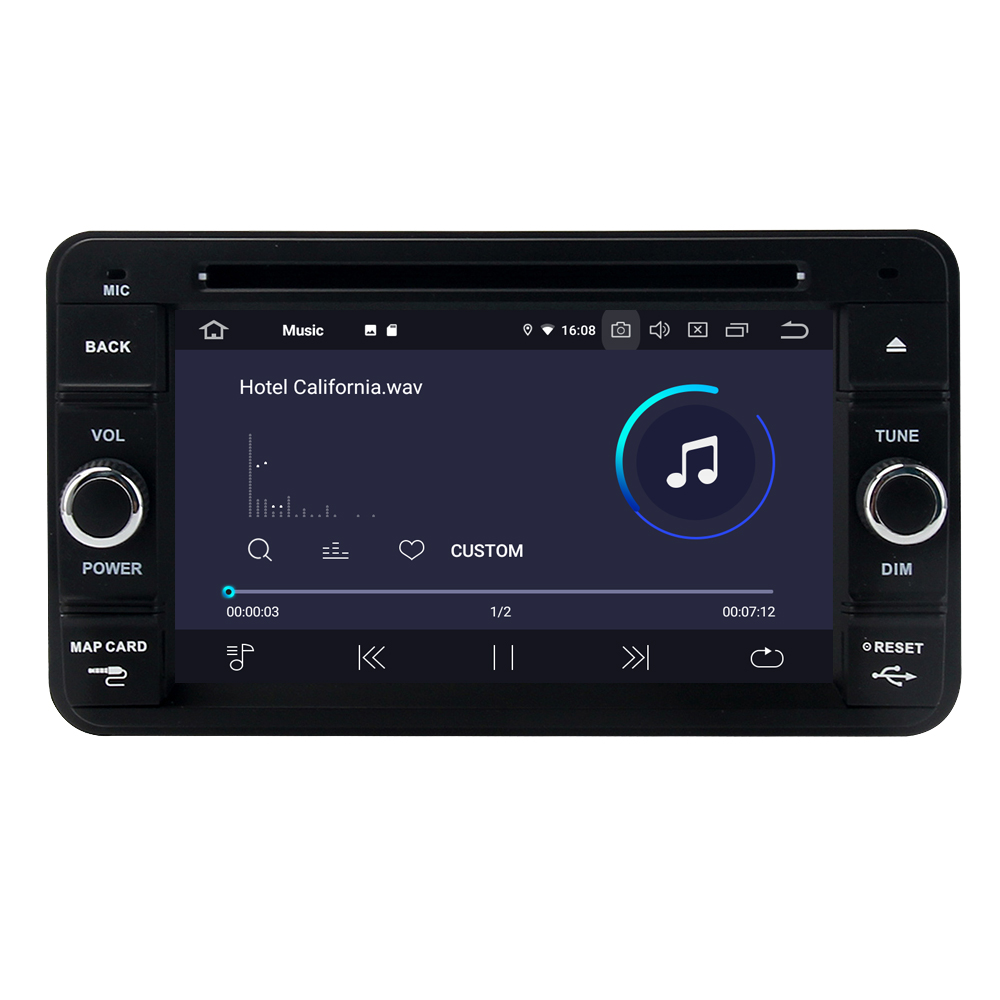 Perfect For Suzuki Jimny 2007 - 2013 Android 9.0 2G+16G Quad Core Autoradio Car DVD Radio Stereo GPS Navigation Multimedia Player 2