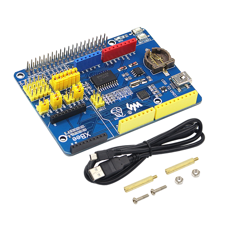 ARPI600 Raspberry Pi Expansion Development Board Supports XBee Modules Motor GPRS Control Shield For Raspberry Pi 4B/3B+/3B