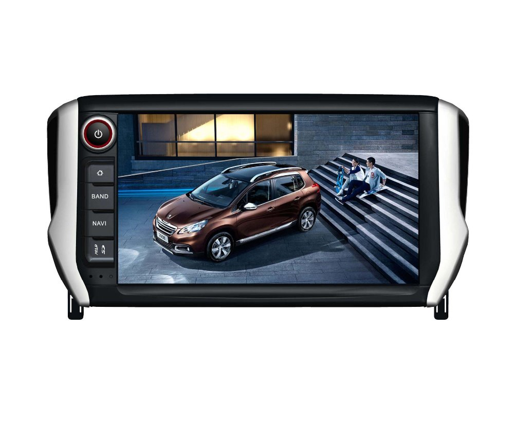 S190 touch screen android 7.1 car dvd player for peugeot 2008 wifi/3G device mirror link navigation DVR gps car stereo radio