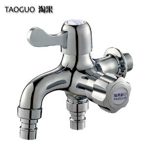 Faucet Washing-Machine Copper-Core Three-Links Dual-Use The Nao Two-Out-Of Multi-Purpose