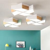 220 V أدى أضواء السقف في طاحونة شكل لغرفة المعيشة Lamparas دي تيكو نوم الأولاد غرفة السقف مصباح غرف luminare-في أضواء السقف من مصابيح وإضاءات على