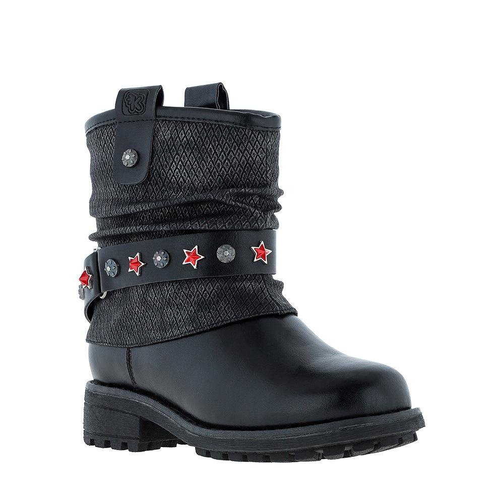[Available with 10 11] Half Boots Kakadu doratasia big size 34 43 women half knee high boots vintage flat heels warm winter fur shoes round toe platform snow boots
