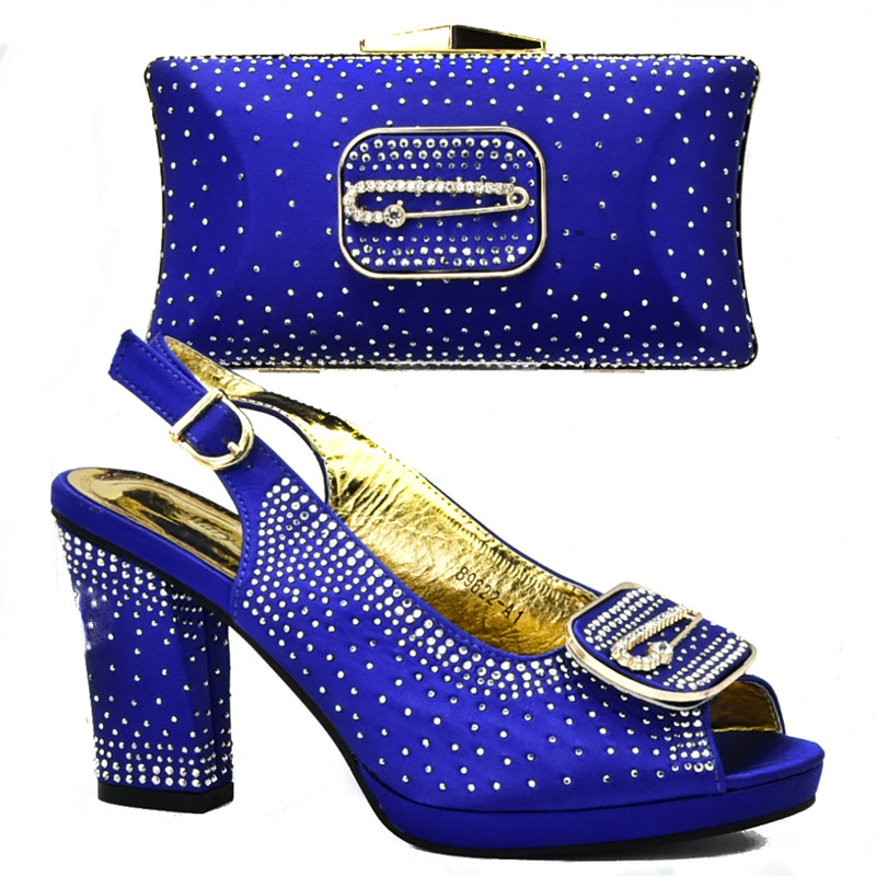De Italiano Diamantes Parte verde Negro Zapato En Bolso Con Las Bolsa Y Zapatos amarillo Para Mujeres rojo Decorado azul La Boda Damas Imitación 0qFdf0