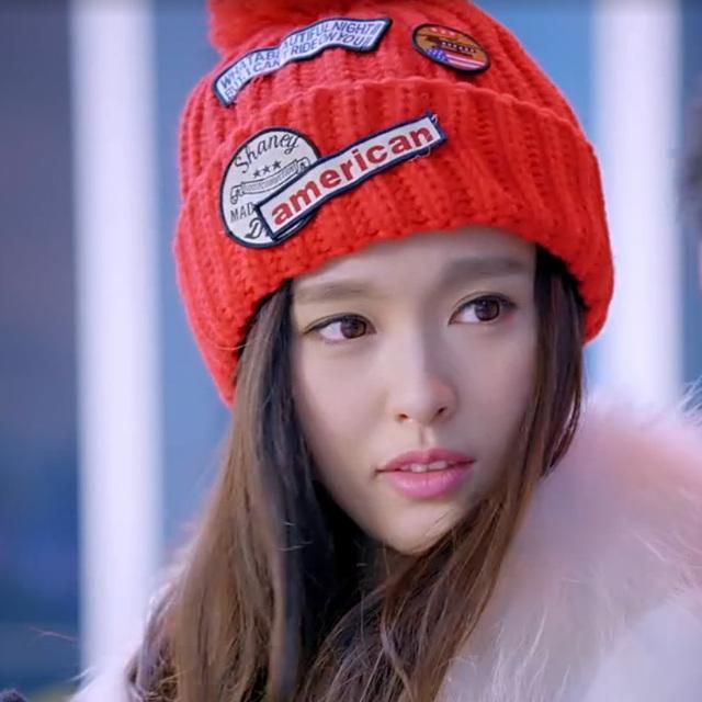 2017 Venta Rushed Adulto Animal Beanie Invierno Coreano Caliente Paño Cap Badge Nagymaros Bola De Sombrero De Punto En Otoño Y invierno.