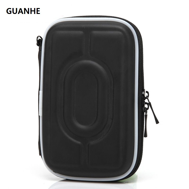 GUANHE waterproof 5 Colors Universal Shockproof Protect Case Bag For WD Seagate 2.5 Portable Hard Drive I
