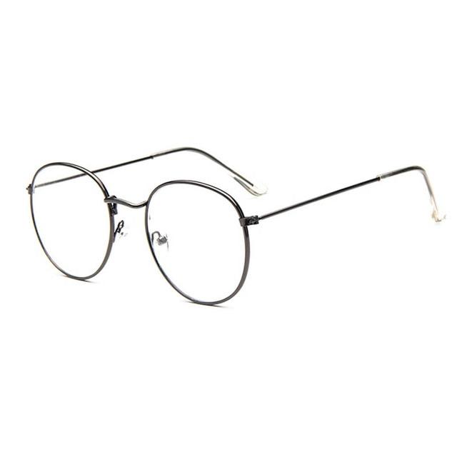 Vintage Retro Eye Glasses Frames For Women Men Big Round Frames ...