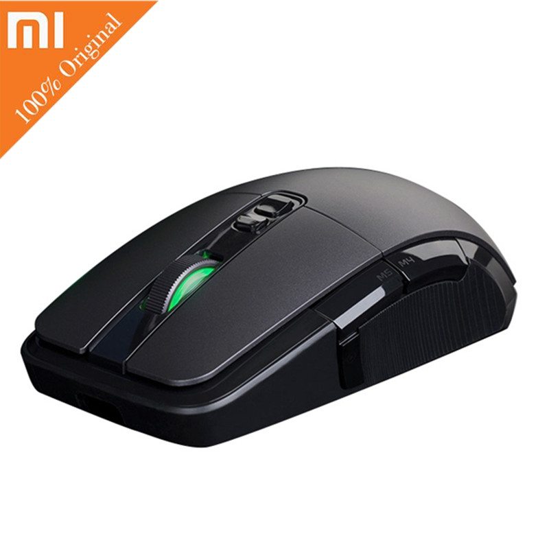 Original Xiaomi Gaming Mouse 2.4G Wireless Mouse Gamer Game Mause USB Wired Dual Mode 7200DPI Mice for PC Laptop Notebook Gamer цена и фото
