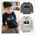 73-95cm height Fashion clothing baby boys Brand sweater pullover  cotton thread clothing sweater basic shirt top cool