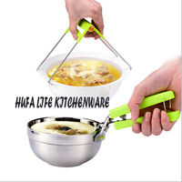 2017 hot sales Two Style Multifunction Kitchen Cooking Tools Bowl Take Set ladle Rests Disk Holder Pot Clips