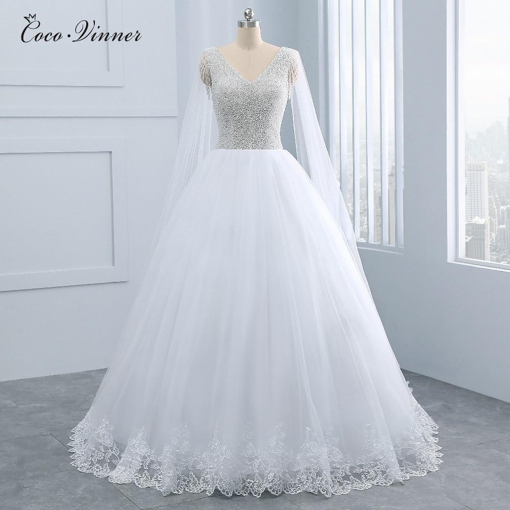 Wedding Gown Wraps: Pretty Heavy Pearls Beading Vintage Princess Wedding