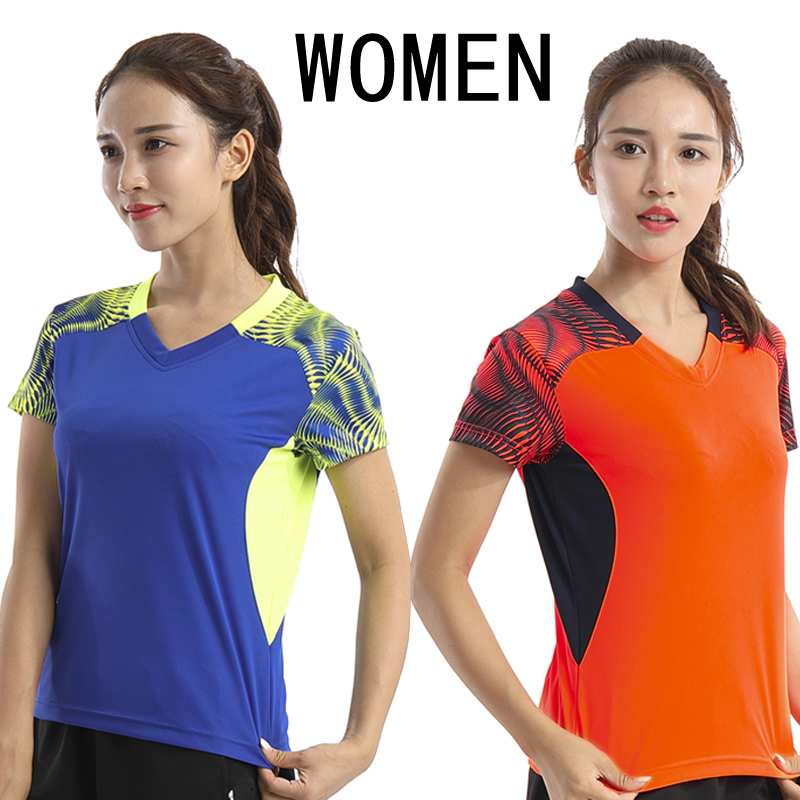 Free shipping, tennis shirts, womens badminton clothes, short sleeved T-shirts, speed clothes, summer wear, tennis clothes