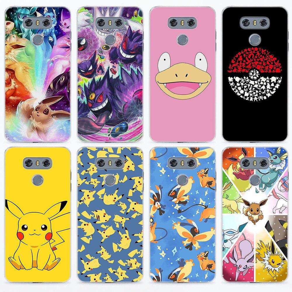 cartoon-font-b-pokemons-b-font-eevee-pika-for-lg-g5-g6-v30-transparent-frame-hard-back-phone-case-cover-for-lg-v10-v20-v30-g5-g6-q6-k8-k10-201