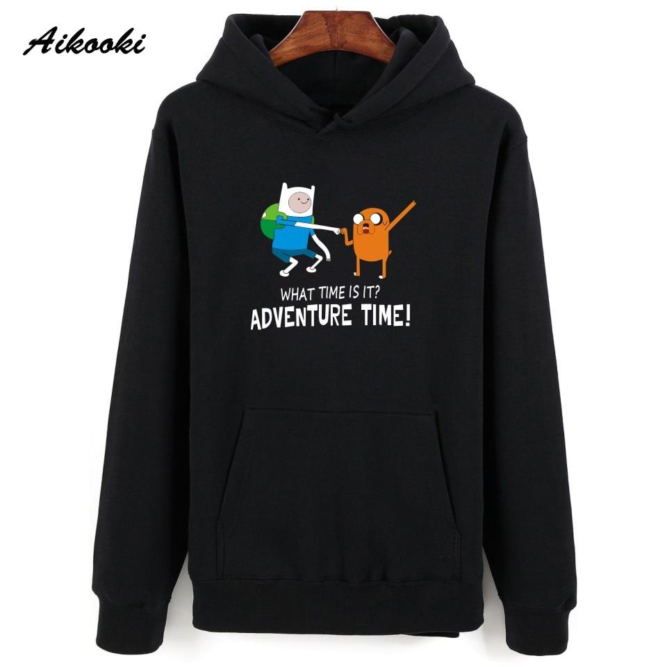 Adventure Time Hoodies Men/Women Hoodies and Sweatshirts Adventure Time Autumn Winter Hip Hop Harajuku Polluvers Clothes jung kook bts persona