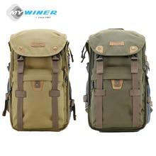 Винер Военный Зеленый видеокамера сумка рюкзак Водонепроницаемый Камера сумка для Canon EOS DSLR 750D 700D 650D 600D 1100D