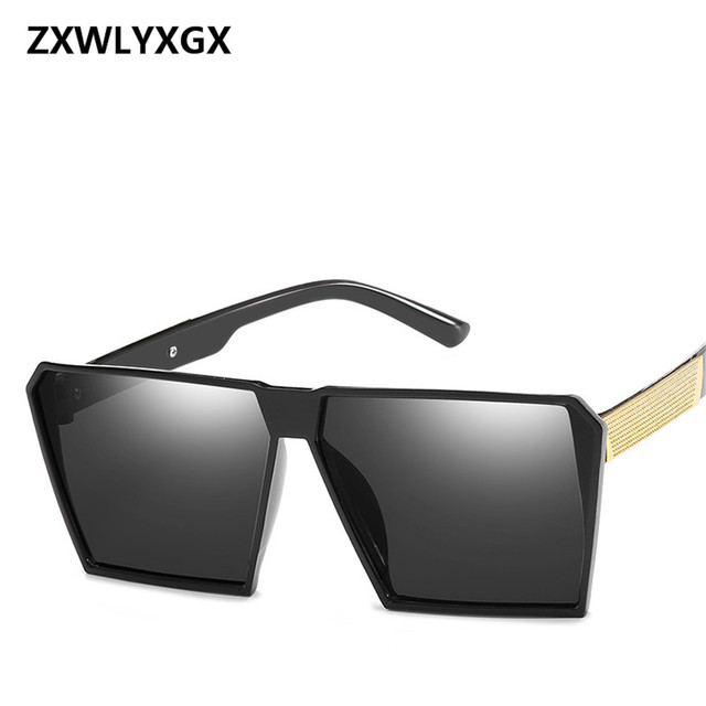 2cb5fd7ca07 ZXWLYXGX New Fashion Sunglasses Men Brand Designer Luxury Sun glasses  Female Glasses Ladies Gafas Oculos De