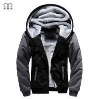 Winter Men S Cashmere Sweater With Thick Warm Youth Hoodie Hooded Cardigan Coat