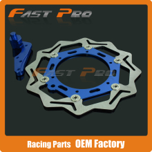 Wholesale Oversize 270MM Front Floating Brake Disc & Caliper Bracket Adapter for Husaberg FE FC FS FX 125 250 390 400 450 501 550 600 650