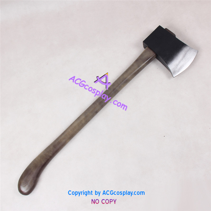 The Evil Within Psycho Break Joseph Axe prop Cosplay Prop pvc made fletcher joseph smith the root of all evil