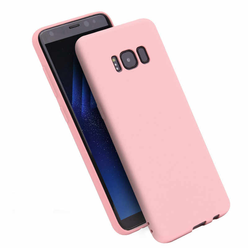 Matte Silicone TPU Soft Back Cover Case For Samsung Galaxy J3 J5 J7 J4 J6 J8 J2 J5 J7 Prime A3 A5 A7 A6 A9 2016 2017 2018 Fundas