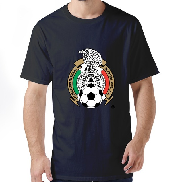 508ecc9ae 100% Cotton Man's Design Mexico t shirt 2015 New Style men t shirt High  Quality