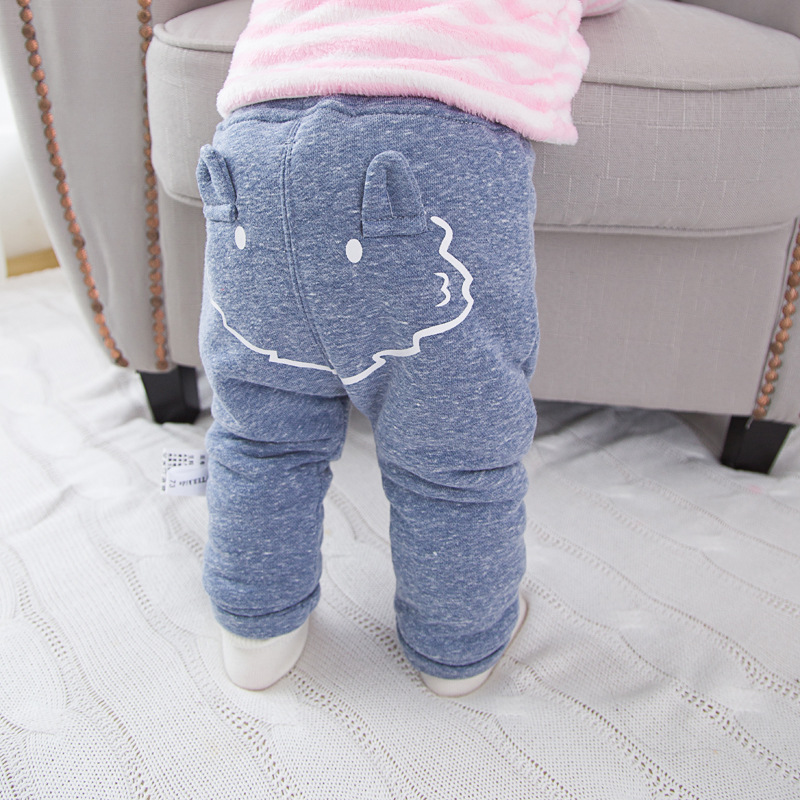 8c17263d831e7 Children's Clothing Pants Baby boy's girl's Thick Fleece Long trousers PP Pants  Infant Winter Warm Pants A049-in Pants from Mother & Kids on Aliexpress.com  ...