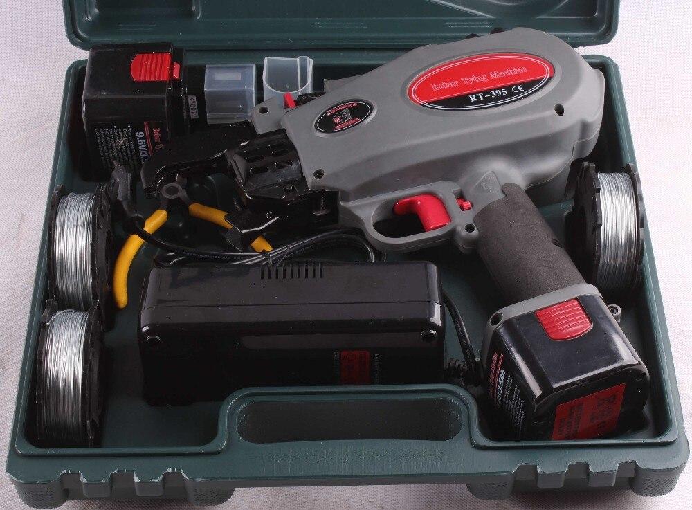 rt 395 automatic rebar tying machine, battery powered cordless ...