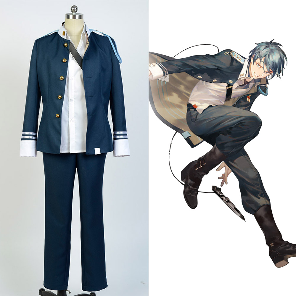 Song of Time Project Seckor Lupe Outfit Cosplay Costume FoR Men Boys full set costume