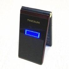 Flip dual screen 2.8″ original flip russian keyboard cheap senior touch mobile phone Phone Elder clamshell Cell phones TKEXUN M2