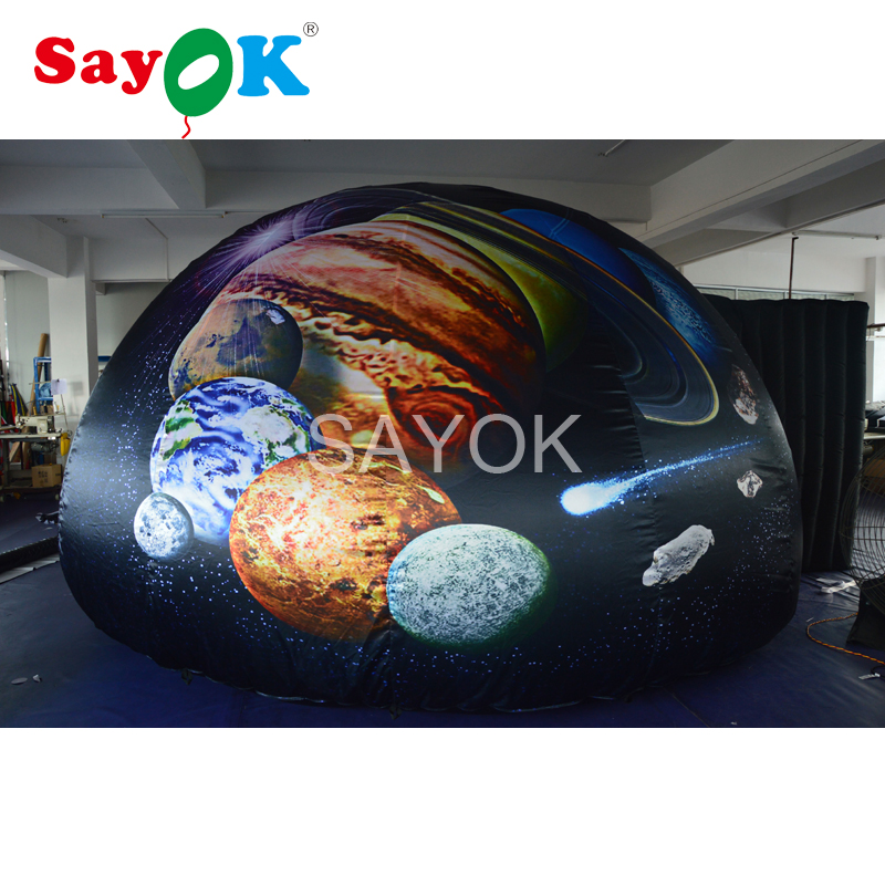 5m Portable Inflatable Planetarium Dome Inflatable