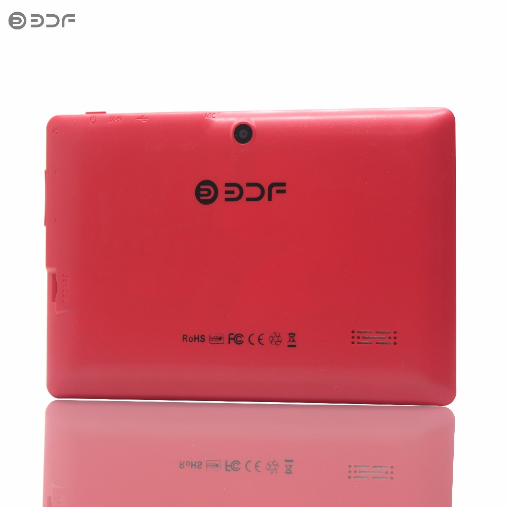 BDF 7 Inch A33  Tablet PC Android 4.4 Google A33 Quad-Core 512+8GB Bluetooth WiFi FlashTablet PC Quad Core Q8 Tab 7 8 9