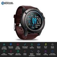 Zeblaze VIBE 3 PRO Farbe Touch Display Sport Smartwatch PPG Herz Rate Wasserdichte Wetter Smart Uhr Männer Für Alle Smart telefon