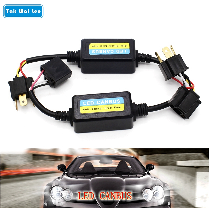 Tak Wai Lee LED Car Headlight Bulb Canbus Anti Flicker Error Free Plug&Play H1 H4 H7 H13 ...