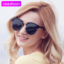 REEDOON Classic Half Metal Polarized Sunglasses Men Women Brand Designer Glasses Mirror Sun Glasses Fashion Gafas Oculos De Sol