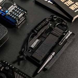 OneTigris Военный Тактический Патч, держатель для ID карты, шейный ремешок с кольцом для ключей и органайзер для карт 2 шт./лот